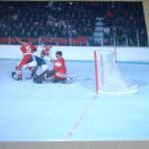 MONTREAL CANADIENS JACQUES LEMAIRE vs SOVIETS PINUP PHOTO