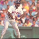BOSTON RED SOX JIM RICE ORIGINAL 1989 PINUP PHOTO