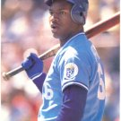 Kansas City Royals Bo Jackson Original 1990 Pinup Photo