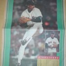 BOSTON RED SOX DANNY DARWIN 1993 NEWSPAPER POSTER