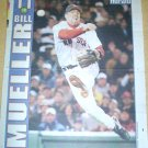 BOSTON RED SOX BILL MUELLER 2004 NEWSPAPER POSTER