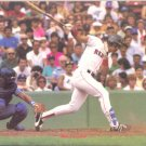 BOSTON RED SOX MIKE GREENWELL ORIGINAL 1988 PINUP PHOTO