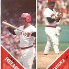 BOSTON RED SOX 1977 PINUP PHOTOS TOMMY HELMS RAMON HERNANDEZ RAMON AVILES DAVE COLEMAN