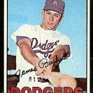 LOS ANGELES DODGERS JIM BARBIERI 1967 TOPPS # 76 VG