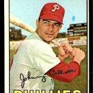 PHILADELPHIA PHILLIES JOHNNY CALLISON 1967 TOPPS # 85 EX