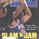 1989 SI NEW YORK KNICKS PATRICK EWING IOWA WOMENS 6 ON 6 PORSCHE 24 HOURS OF DAYTONA LPGA