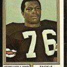 CHICAGO BEARS VERN HOLLAND 1974 TOPPS # 486 VG/EX
