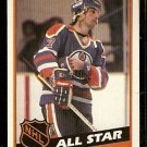 EDMONTON OILERS PAUL COFFEY ALL STAR 1984 TOPPS # 163 EM/NM
