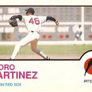 BOSTON RED SOX PEDRO MARTINEZ 1999 PINUP PHOTO