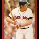 BOSTON RED SOX CARNEY LANSFORD 1982 TOPPS STICKER # 155