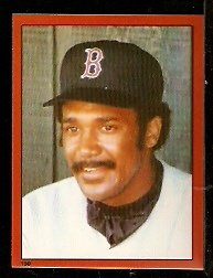 BOSTON RED SOX JIM RICE 1982 TOPPS STICKER # 150