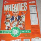1995 BOSTON CELTICS BOSTON GARDEN COMMEMORATIVE WHEATIES BOX LARRY BIRD RED AUERBACH +