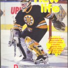 BOSTON BRUINS ANDY MOOG 1991 PINUP PHOTO