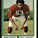 ST LOUIS CARDINALS JAMIE RIVERS 1974 TOPPS # 508 EX/EM