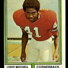 DENVER BRONCOS LEROY MITCHELL 1974 TOPPS # 519 EM