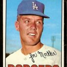 LOS ANGELES DODGERS JOE MOELLER 1967 TOPPS # 149 VG