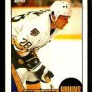 BOSTON BRUINS REED LARSON 1987 TOPPS # 131
