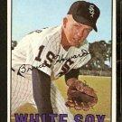 CHICAGO WHITE SOX BRUCE HOWARD 1967 TOPPS # 159 EX