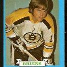 BOSTON BRUINS GREG SHEPPARD ROOKIE CARD RC 73/74 TOPPS # 8