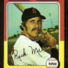 BOSTON RED SOX RICK MILLER 1975 TOPPS # 103 NR MT