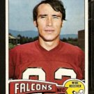 ATLANTA FALCONS KEN BURROW 1975 TOPPS # 105 EX MT