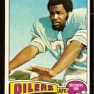 HOUSTON OILERS TODY SMITH 1975 TOPPS # 112 VG/EX