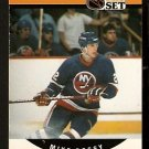 NEW YORK ISLANDERS MIKE BOSSY POINT LDR 1990 PRO SET # 650