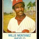 PHILADELPHIA PHILLIES WILLIE MONTANEZ 1975 HOSTESS # 137