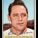 PHILADELPHIA PHILLIES PEDRO RAMOS 1967 TOPPS # 187 EX