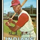 CLEVELAND INDIANS CHUCK HINTON 1967 TOPPS # 189 VG/EX