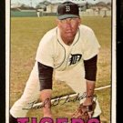 DETROIT TIGERS FRED GLADDING 1967 TOPPS # 192 VG