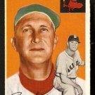 BOSTON RED SOX PAUL SCHREIBER 1954 TOPPS # 217 VG/EX