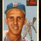 BOSTON RED SOX DICK BRODOWSKI 1954 TOPPS # 221 VG+/EX