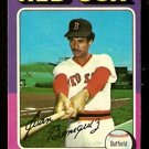 BOSTON RED SOX JUAN BENIQUEZ 1975 TOPPS # 601 NR MT