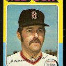BOSTON RED SOX DANNY CATER 1975 TOPPS # 645 NR MT