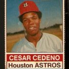 HOUSTON ASTROS CESAR CEDENO 1976 HOSTESS # 47