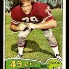 SAN FRANCISCO FORTY NINERS CAS BANASZEK 1975 TOPPS # 248 EX/EM