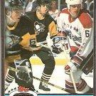 PITTSBURGH PENGUINS MARK RECCHI 1991 TOPPS STADIUM CLUB # 256