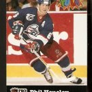 WINNIPEG JETS PHIL HOUSLEY 1992 PRO SET PUCK CANDY # 30