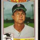 BOSTON RED SOX CARL YASTRZEMSKI YAZ 1984 TOPPS GLOSSY ALL STAR # 11