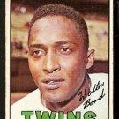 MINNESOTA TWINS WALT BOND 1967 TOPPS # 224 Good
