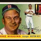 BOSTON RED SOX MIKE HIGGINS 1955 TOPPS # 150 EX+