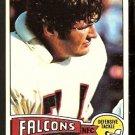 ATLANTA FALCONS MIKE TILLEMAN 1975 TOPPS # 272