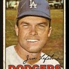 LOS ANGELES DODGERS JIM LEFEBVRE 1967 TOPPS # 260 Fair
