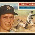 BOSTON RED SOX BILLY KLAUS 1956 TOPPS # 217 EX MT/NR MT