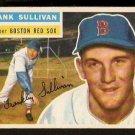 BOSTON RED SOX FRANK SULLIVAN 1956 TOPPS # 71 EX