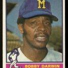 MILWAUKEE BREWERS BOBBY DARWIN 1976 TOPPS # 63 VG
