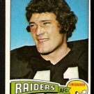 OAKLAND RAIDERS PHIL VILLAPIANO 1975 TOPPS # 320 EM/NM