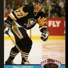 PITTSBURGH PENGUINS PAUL COFFEY 1991 TOPPS STADIUM CLUB CHARTER MEMBER