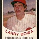 PHILADELPHIA PHILLIES LARRY BOWA 1977 HOSTESS TWINKIE # 62